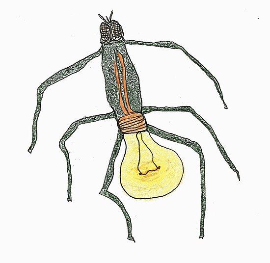 light bulb bug by dthaase