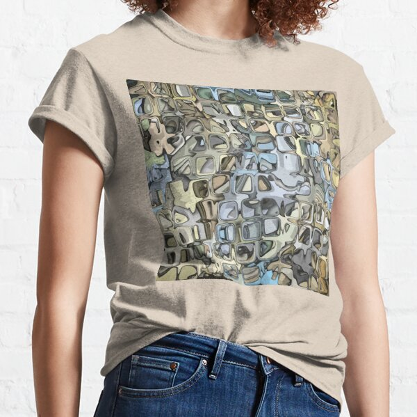 Textured Geometric Abstract 3 Classic T-Shirt