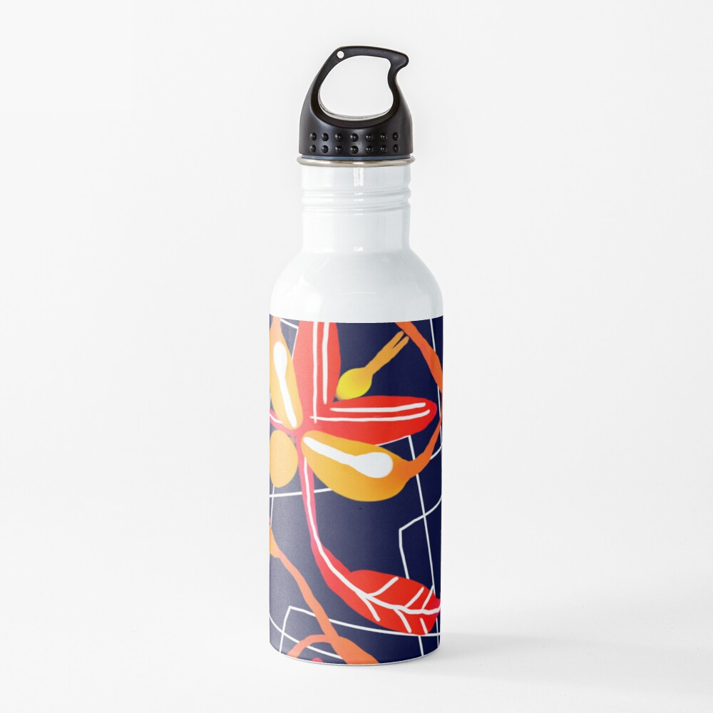 Sunset orchid Water Bottle