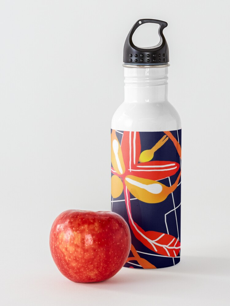 Alternate view of Sunset orchid Water Bottle