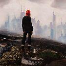Urban Human Urban Fantasy Dystopian Art by Galen Valle