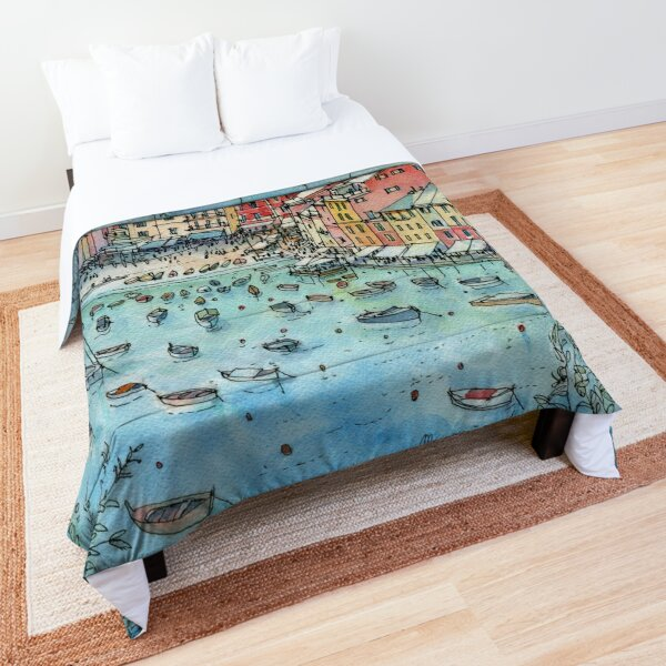 Portofino, Italy Comforter