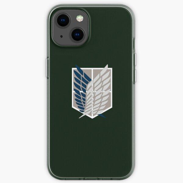 Logo del Batallón de Exploración Funda blanda para iPhone