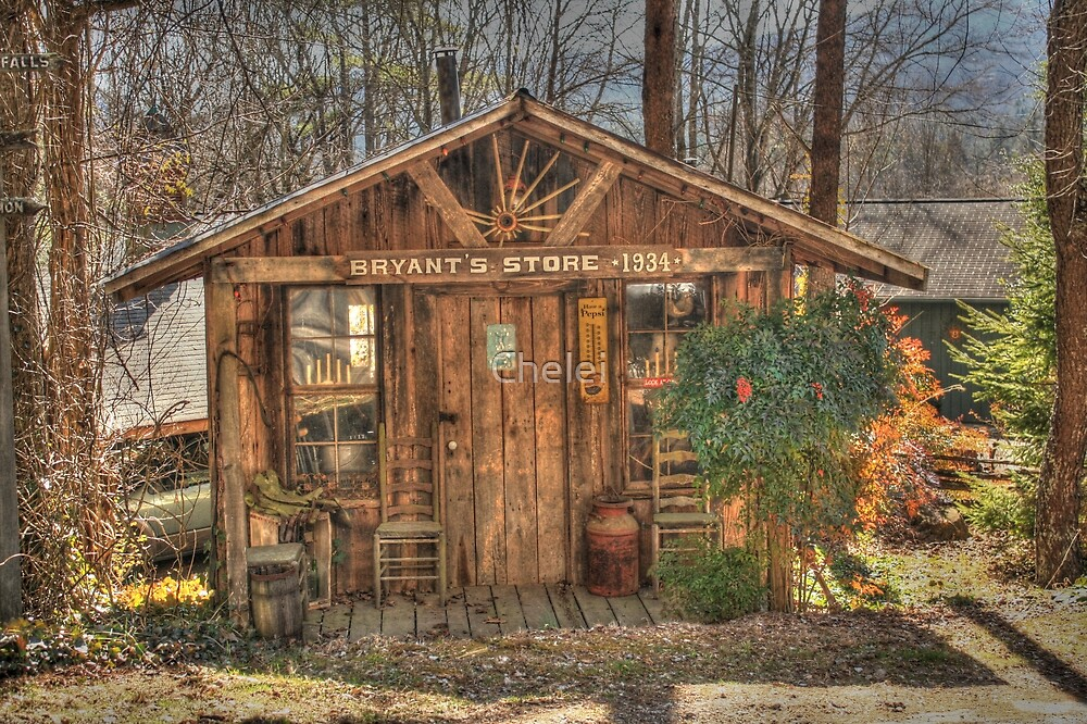 Bryant's Store 1934 by Chelei
