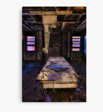 Feed the Machine Canvas Print