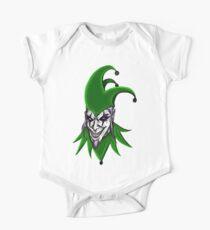 Evil Jester Clown Kids Clothes