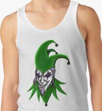 Evil Jester Clown Tank Top
