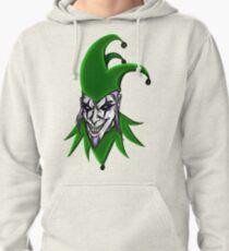 Evil Jester Clown Pullover Hoodie