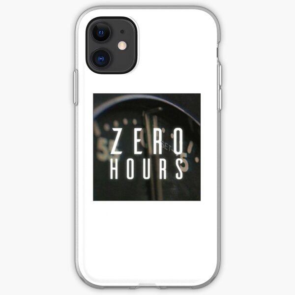 zero hours iPhone Soft Case