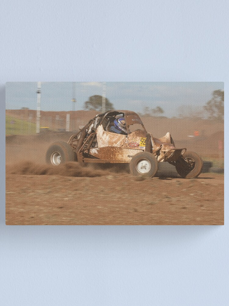 Alternate view of Down and Dirty too Canvas Print