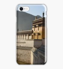 Tibetan monastery iPhone Case/Skin