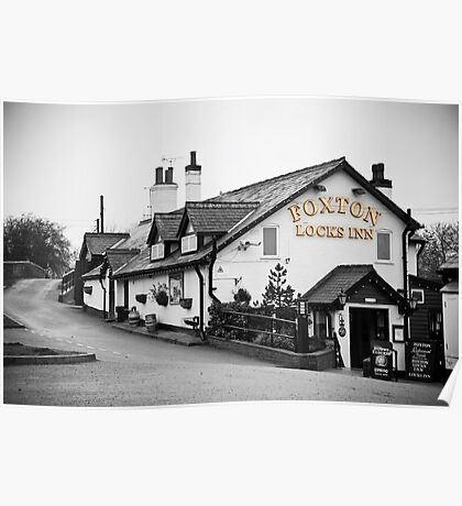 Foxton Locks Inn: Leicestershire Poster