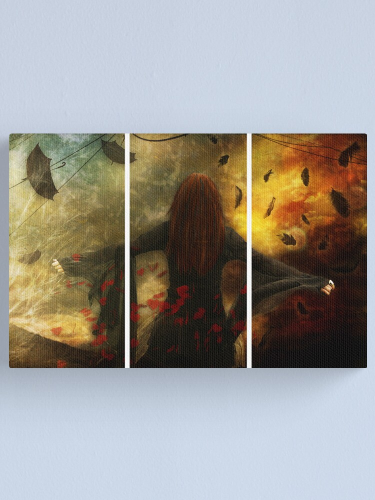 Alternate view of Falling Canvas Print