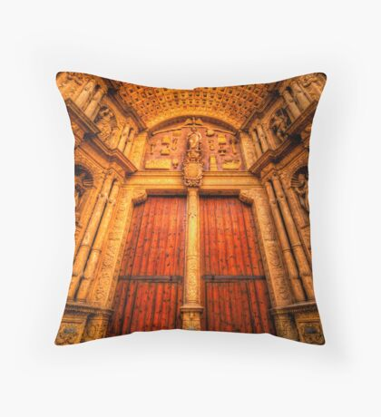 Imposing Thresholds Throw Pillow