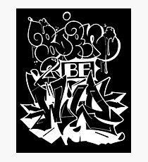 graffiti born ver.0.2 Photographic Print