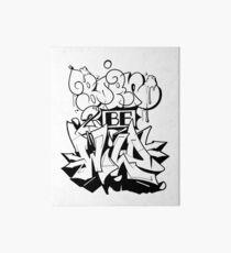 graffiti born ver.0.1 Art Board Print