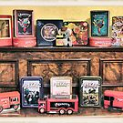 Bickie Tins by Donna Keevers Driver