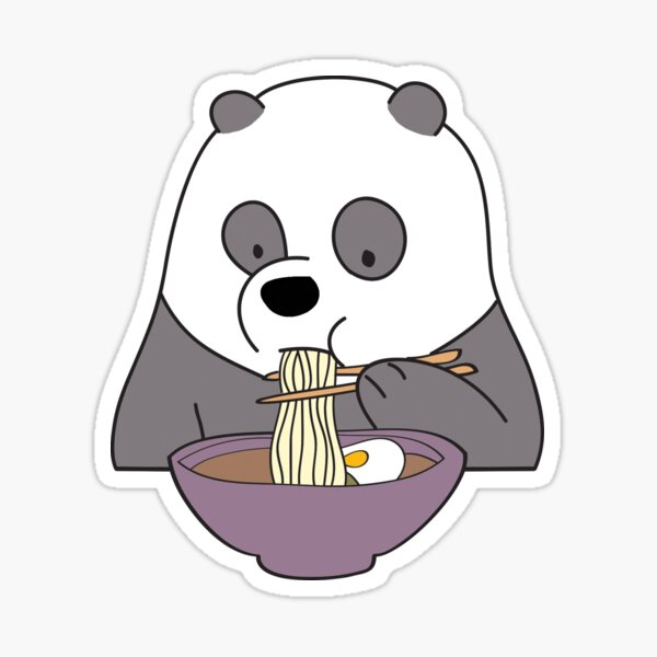 We Bare Bears - Panda Sticker