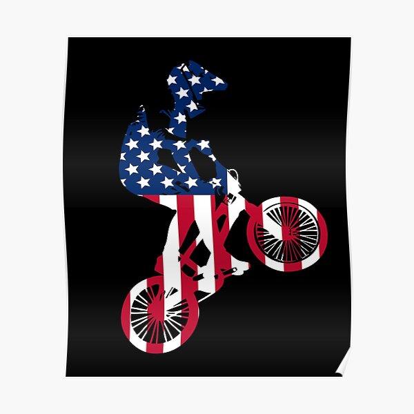 KIDS Eat Sleep BMX Riding Bike Jumping Track Sport T-Shirt