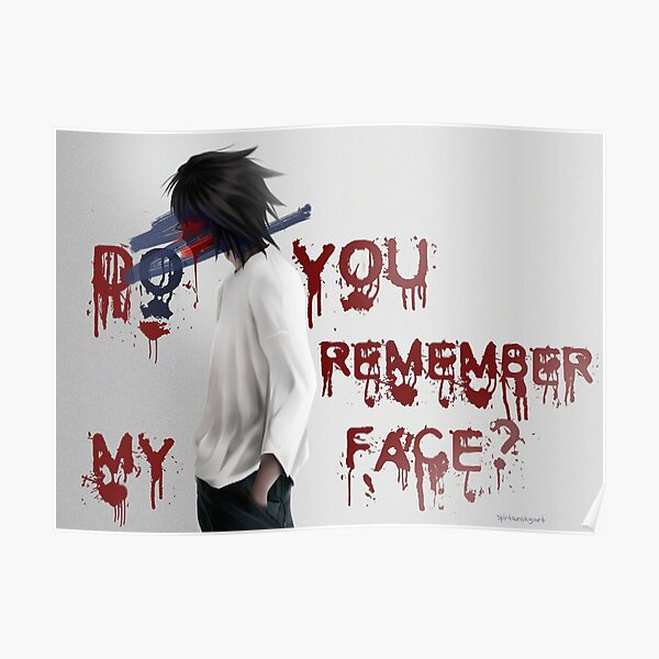 Do u remember my face? Poster