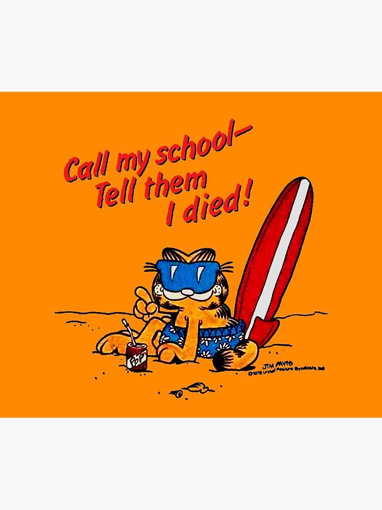 Garfield Skips School by winkatawink