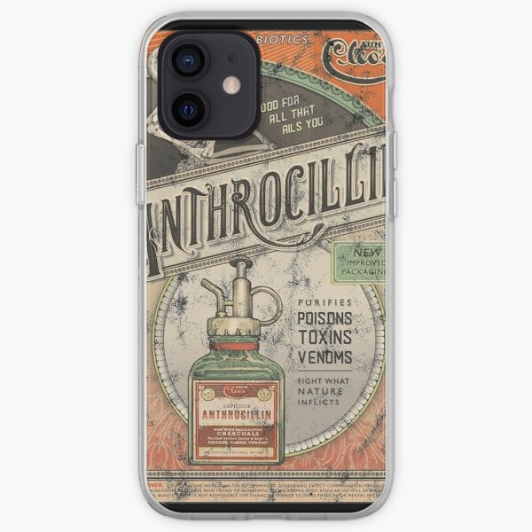 The Outer Worlds Anthrocillin iPhone Soft Case