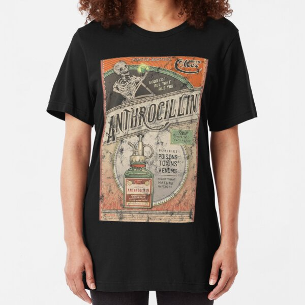 The Outer Worlds Anthrocillin Slim Fit T-Shirt