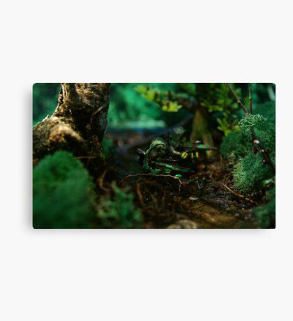 Lego jungle river Canvas Print
