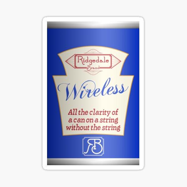 Ridgedale Brand Wireless - Blue Sticker