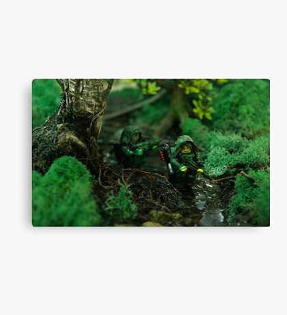 Lego jungle bis Canvas Print