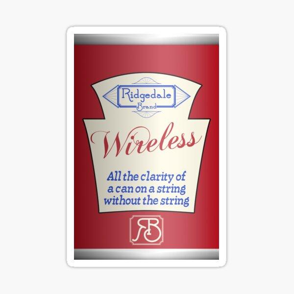 Ridgedale Brand Wireless - Red Sticker