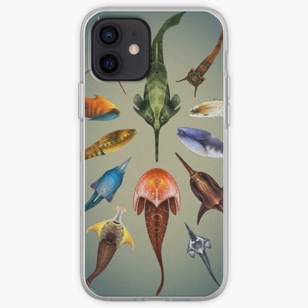 Ostracoderms Plate iPhone Soft Case