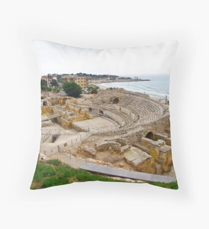 Tarragona's amphitheatre Throw Pillow