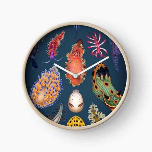 Nudibranchs Plate Clock