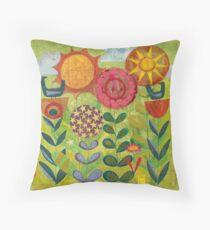 Garden in Bloom Floor Pillow