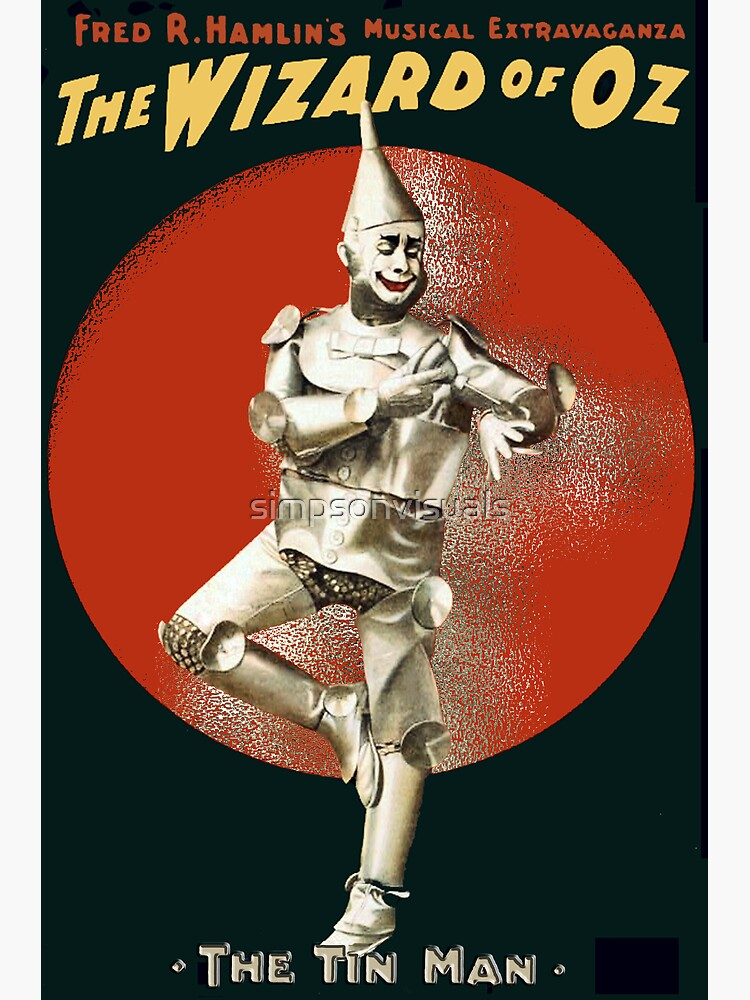 Wizard of Oz Tin Man  by simpsonvisuals