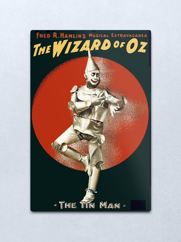Alternate view of Wizard of Oz Tin Man  Metal Print