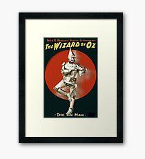 Wizard of Oz Tin Man  Framed Print