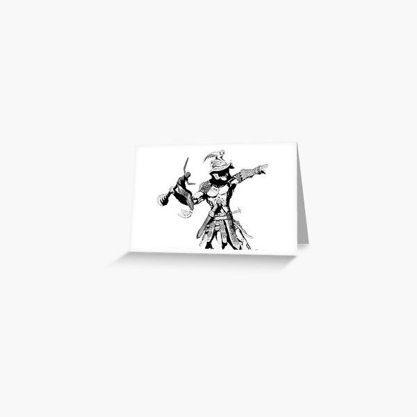 The Gladiator Greeting Card