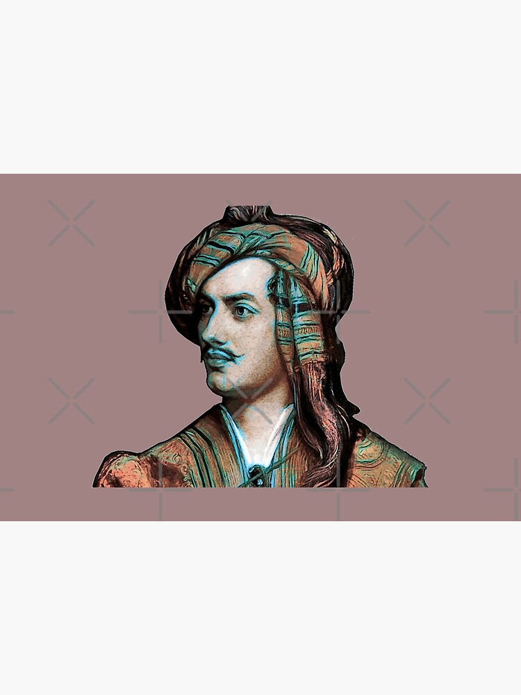 Lord Byron by painterfrank