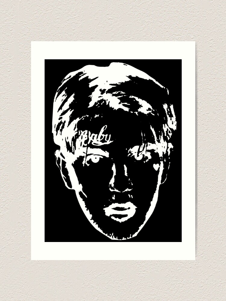 """Pt 2 Cover Poster Art Print 24×24/"""" 32×32/"""" Lil Peep Come Over When You/'re Sober"""