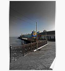 Hastings Pier  Poster