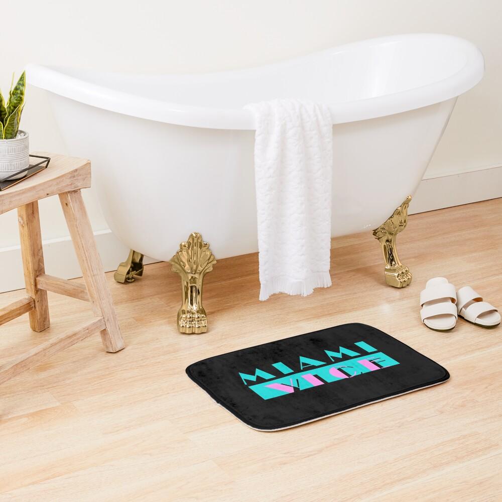Miami Vice Bath Mat