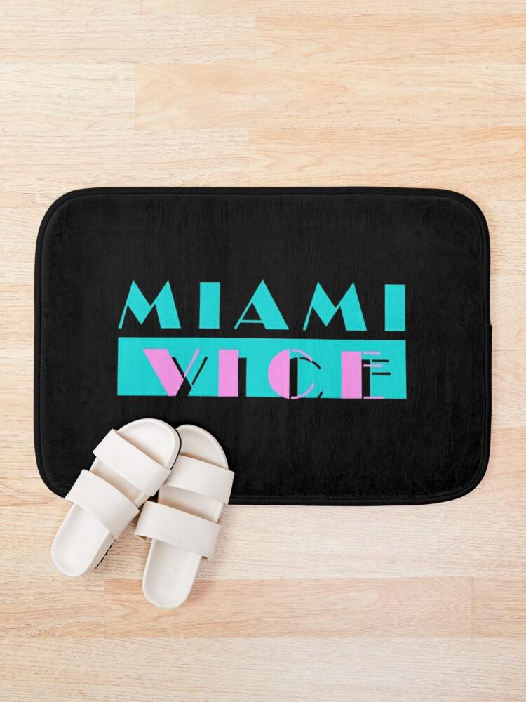 Alternate view of Miami Vice Bath Mat