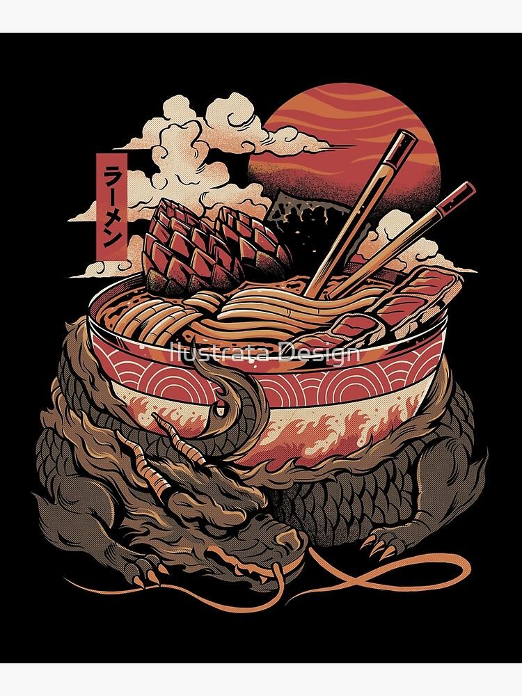 Dragon's Ramen by ilustrata