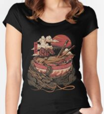 Dragon's Ramen Fitted Scoop T-Shirt