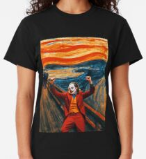 Joaquin Phoenix's Joker - Arthur Fleck: THE SCREAM Classic T-Shirt