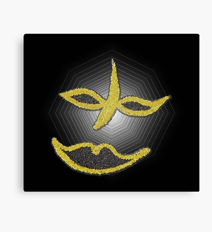 Gold Face Canvas Print