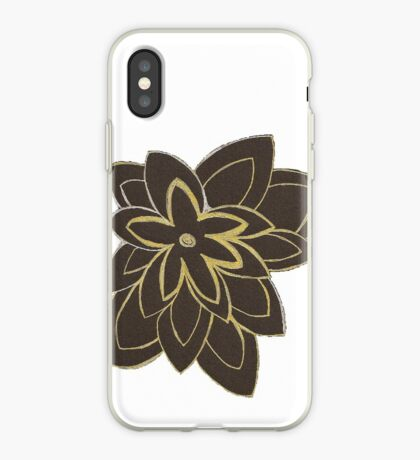 Styled Flower iPhone Case