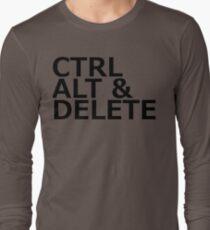 CTRL ALT DELETE Long Sleeve T-Shirt